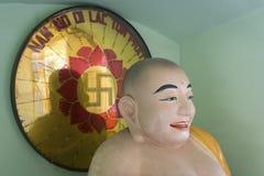 Statue des buddhistischen Mönchs in Vietnam Lizenzfreies Stockfoto