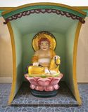 Statue des buddhistischen Mönchs in Vietnam Lizenzfreie Stockfotos