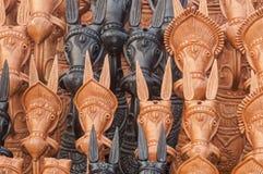 Statue des chevaux Images stock