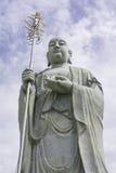 Statue des Chinesen und des Himmels Lizenzfreies Stockbild
