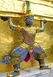 Statue des Dämons, Bangkok Lizenzfreie Stockfotografie