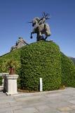 Statue des Einhorns Lizenzfreie Stockfotografie