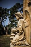 Statue des Engels - Valtice, Tschechische Republik, Europa Stockfoto