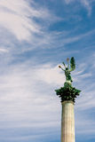 Statue des Erzengels Gabriel Stockbilder