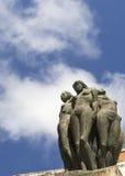 Statue des femmes nues Images libres de droits