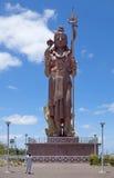 Statue des Gottes Shivy auf Mauritius Lizenzfreie Stockbilder