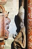 Statue des Heiligen lizenzfreies stockbild