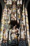 Statue des Heiligen stockfoto