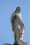 Statue des Heiligen, Kirche von Johannes der Evangelist Parma Lizenzfreies Stockfoto