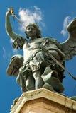 Statue des Heiligen Michael, Castel Sant'Angelo Stockfotografie