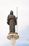 Statue des Heiligen Rosalia in Palermo Stockbilder