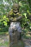 Statue des hindischen Affe-Gottes Stockbilder