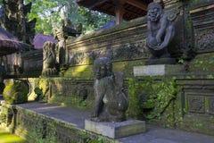 Statue des hindischen Affe-Gottes Stockfoto