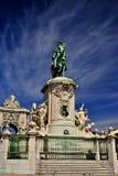 Statue des Königs Jose Ich-Lissabon Portugal stockbild