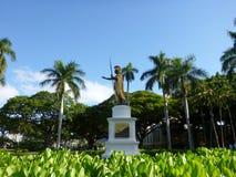 Statue des Königs Kamehameha, Honolulu, Hawaii Lizenzfreies Stockfoto