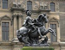 Statue des Königs Louis Lizenzfreies Stockbild