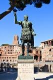 Statue des Kaisers Augustus (Rom) Lizenzfreies Stockfoto