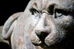 Statue des Löwes Stockfotos