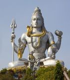 Statue des Lords Shiva stockbild