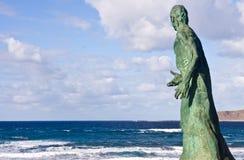 Statue des Meeres Stockfotografie