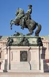 Statue des Prinzen Eugene stockbild