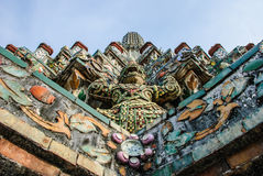 Statue des Riesen (Dämon, Titan) Stockfotografie
