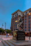 Statue des ruisseaux Robinson photographie stock