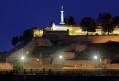 Statue des Siegers in der Kalemegdan Festung, Belgrad Lizenzfreie Stockbilder