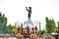 Statue des Stärkemannes Lizenzfreies Stockbild