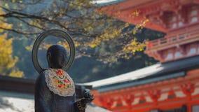 Statue des Tempels Stockfoto