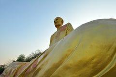 Statue des Tempels THAILAND und Buddhas Lizenzfreies Stockbild