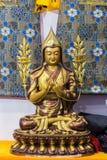 Statue des tibetanischen Buddhismus Stockfotografie