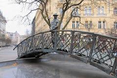 Statue des ungarischen Premierministers Imre Nagy Lizenzfreies Stockbild