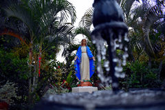 Statue des Virgen Mary auf Heiligem Malachy Church Stockbild