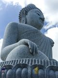 Statue design art big Buddha religion freedom temple in Phuket Thailand Royalty Free Stock Photography