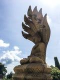Statue design art of Religion freedom temple lifestyle Phuket Thailand Royalty Free Stock Image