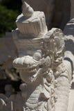 Statue detail Hindu temple at Pura Sahab Royalty Free Stock Images