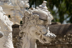 Statue detail Hindu temple at Pura Sahab Stock Image