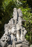 Statue details of hindu temple, Bali, Indonesia Royalty Free Stock Photo