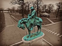 Statue in Detroit Royalty Free Stock Photos