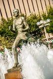 Statue devant le tribunal à St Louis photos stock