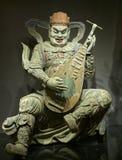 Statue of Dhrtarastra in Lushun, China. Royalty Free Stock Photos