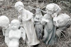 Statue di angelo Fotografie Stock Libere da Diritti