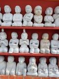 Statue di Buddha nell'esposizione Fotografie Stock Libere da Diritti