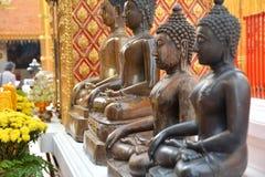 Statue di Buddha in Tailandia immagine stock libera da diritti