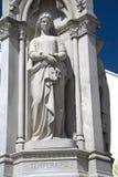 Statue di eredità di giustizia immagini stock libere da diritti
