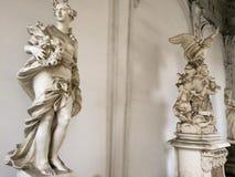 Statue di marmo fotografie stock libere da diritti