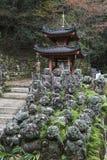Statue di pietra di Buddha Fotografia Stock