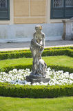 Statue of Diana in Schonbrunn palace, Vienna Royalty Free Stock Photos