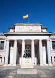 Statue of Diego Velazquez is beside the Museo del Prado, Madrid Royalty Free Stock Images